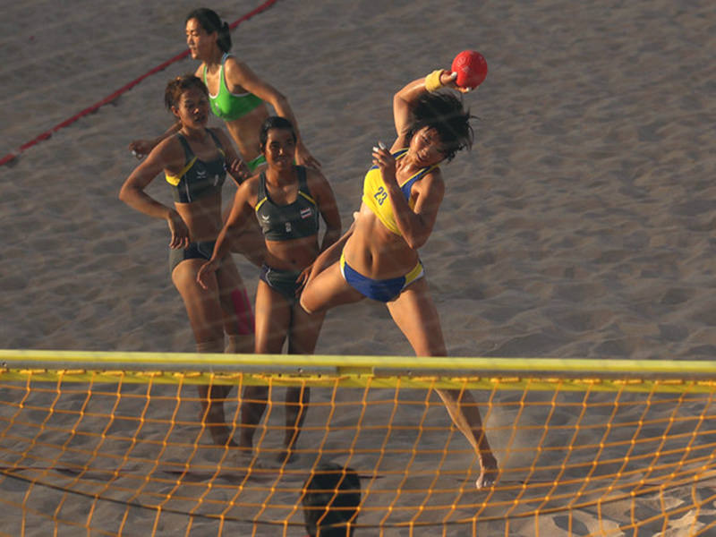 Filet de beach-handball 3x2x0,8x1 m