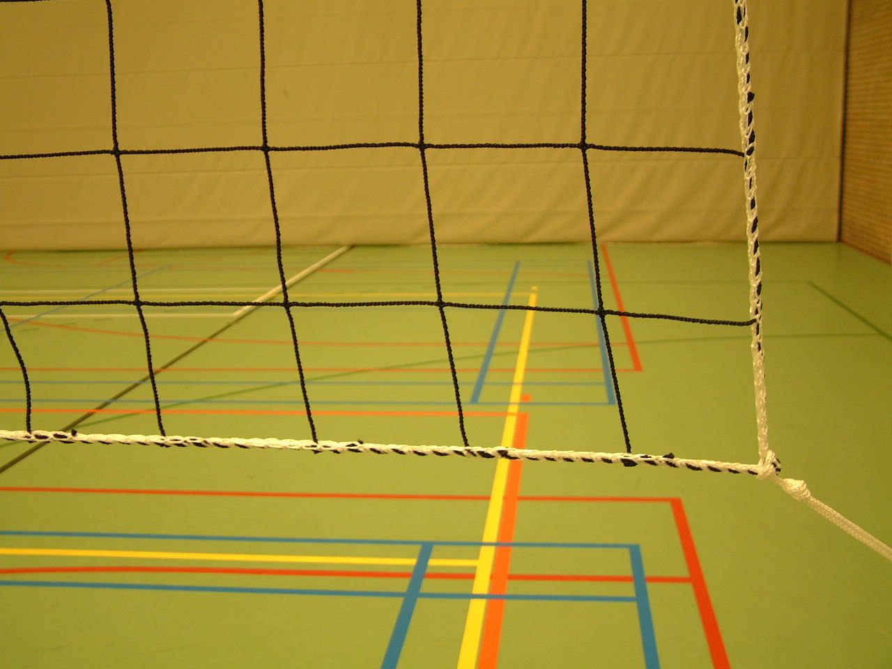 Filet de pratique de volley-ball