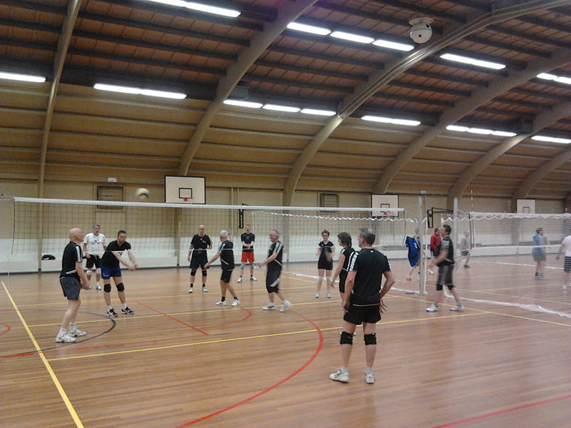 Filet de loisirs de volley-ball