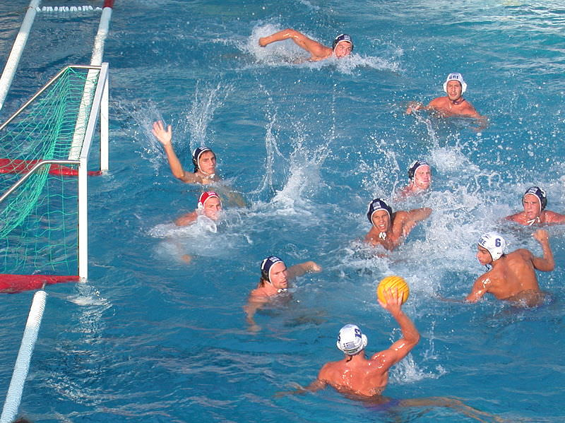 Filet pour but de water-polo