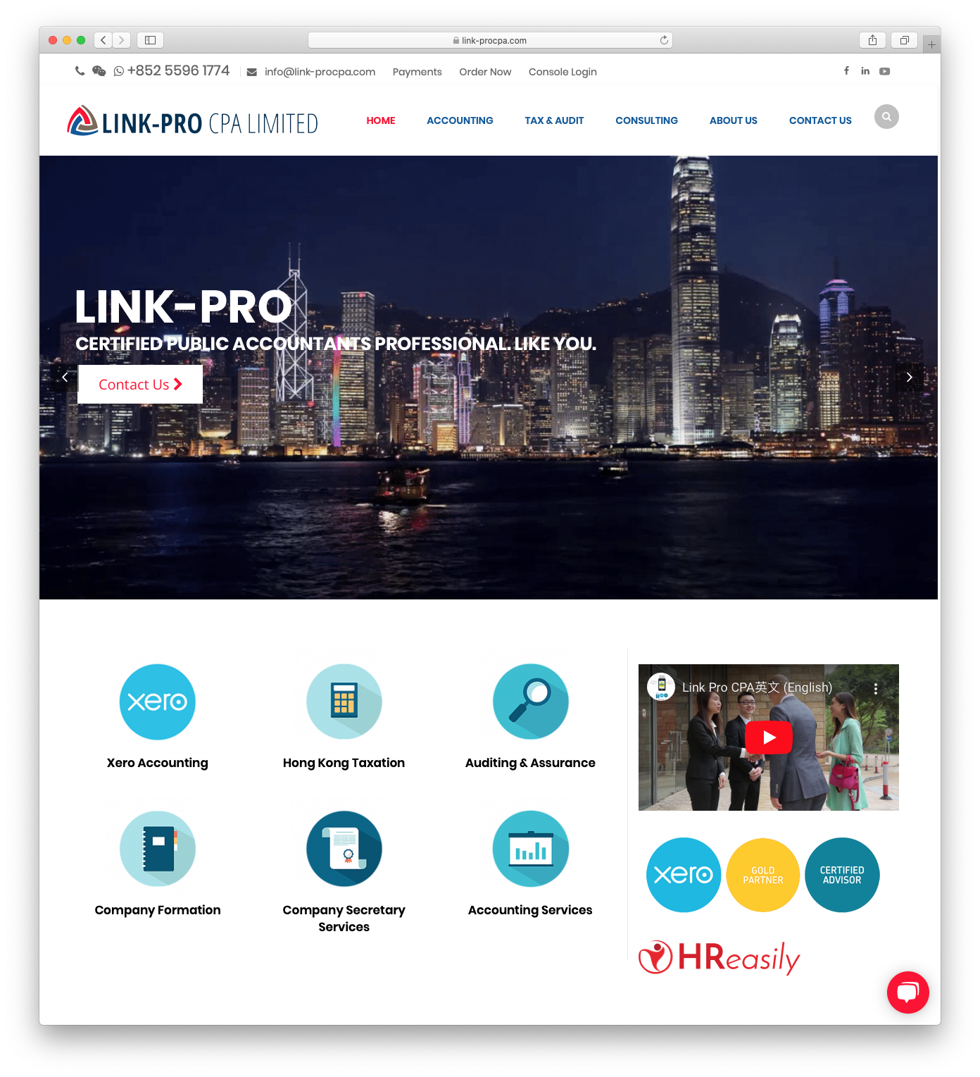 Link-Pro CPA Limited
