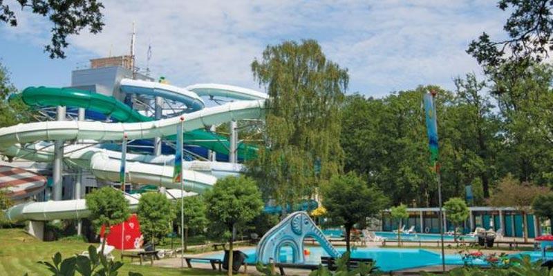 Hoseasons outdoor water slides