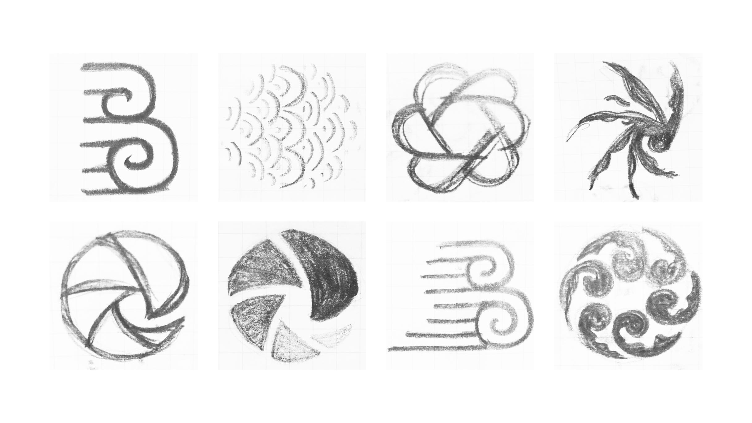 Breaker Logo Sketches
