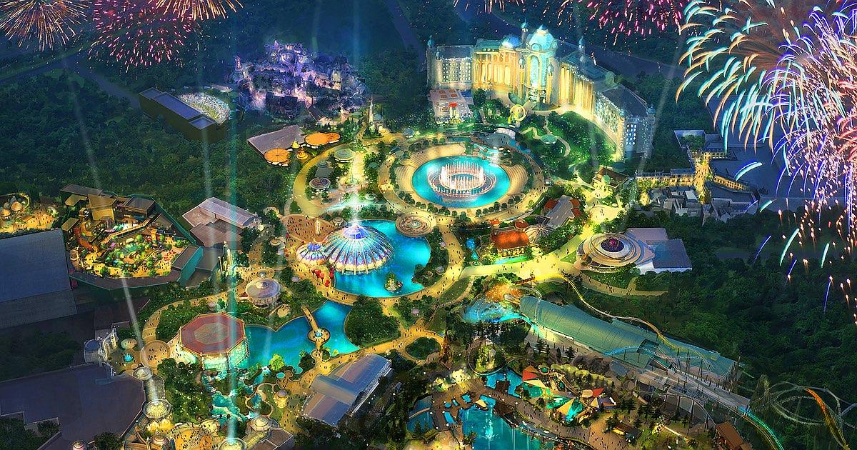 Universal revela seu novo parque temático