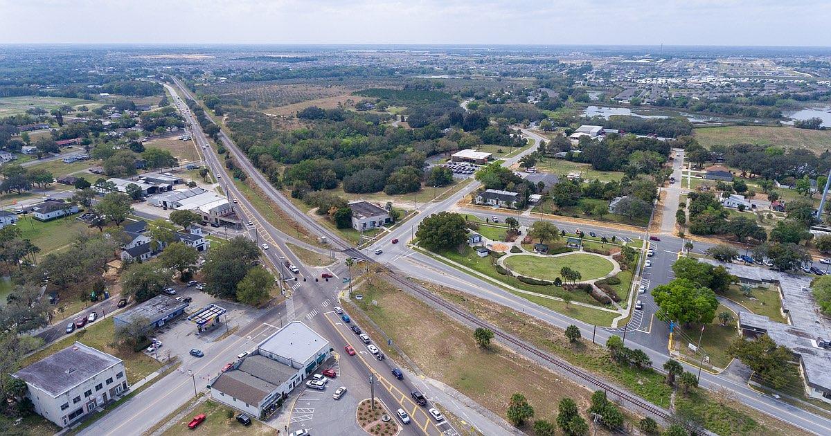 Imagem Aérea de Davenport Downtown