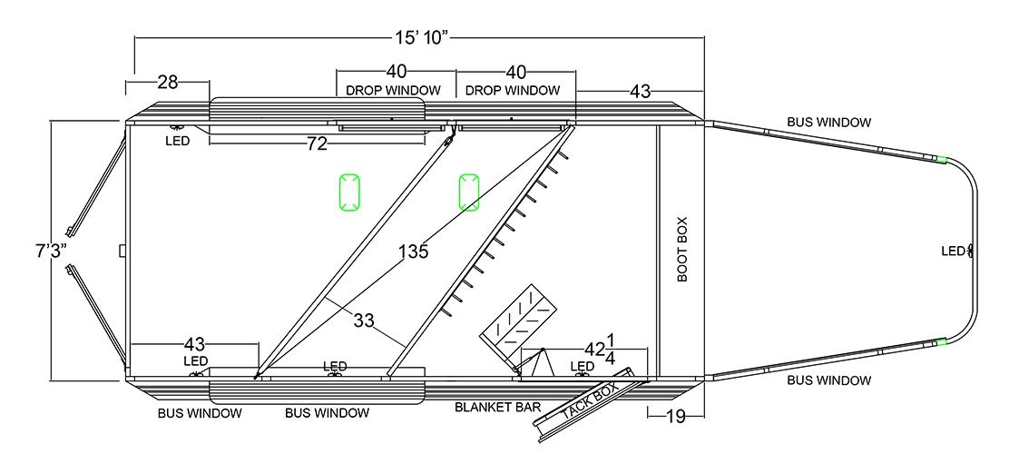 wiring diagram for gooseneck trailer xt xtr gooseneck horse trailer logan coach  xt xtr gooseneck horse trailer logan