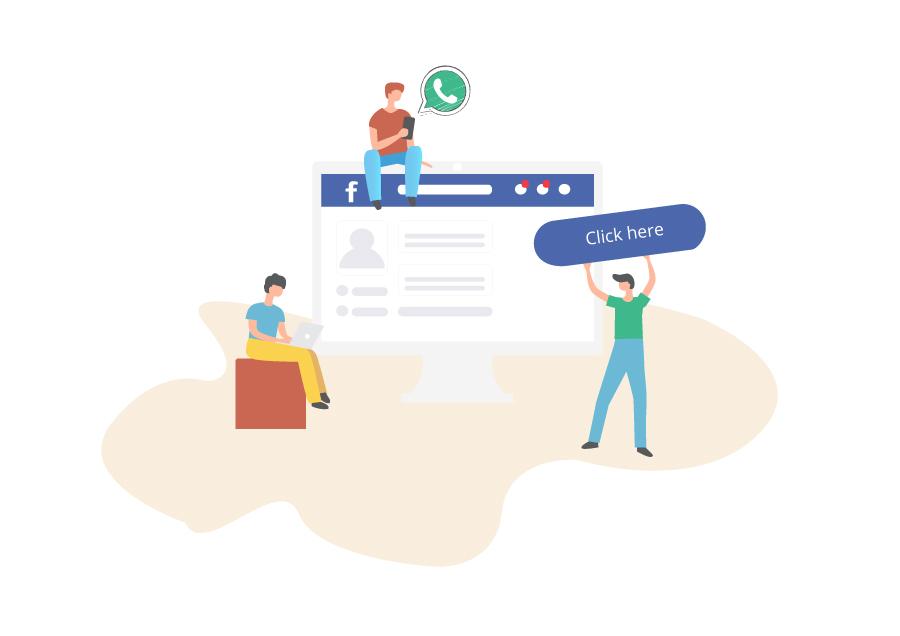 """Click-to WhatsApp & Messenger Ads"" Reklam Modeli"