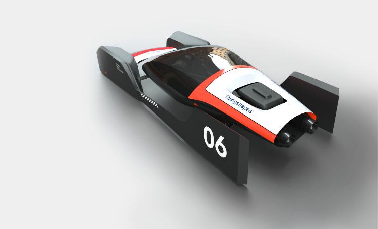Car Study modeled in flyingshapes°