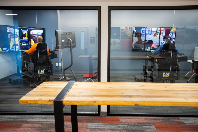VR Simulator Training Room