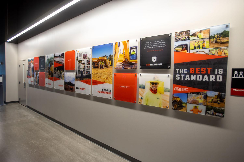 A wall of HGC photos