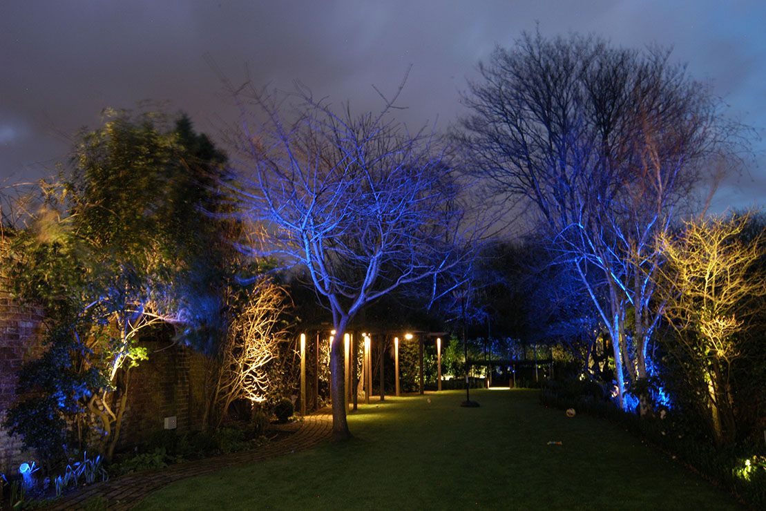 Garden lighting, Barnes, Richmond