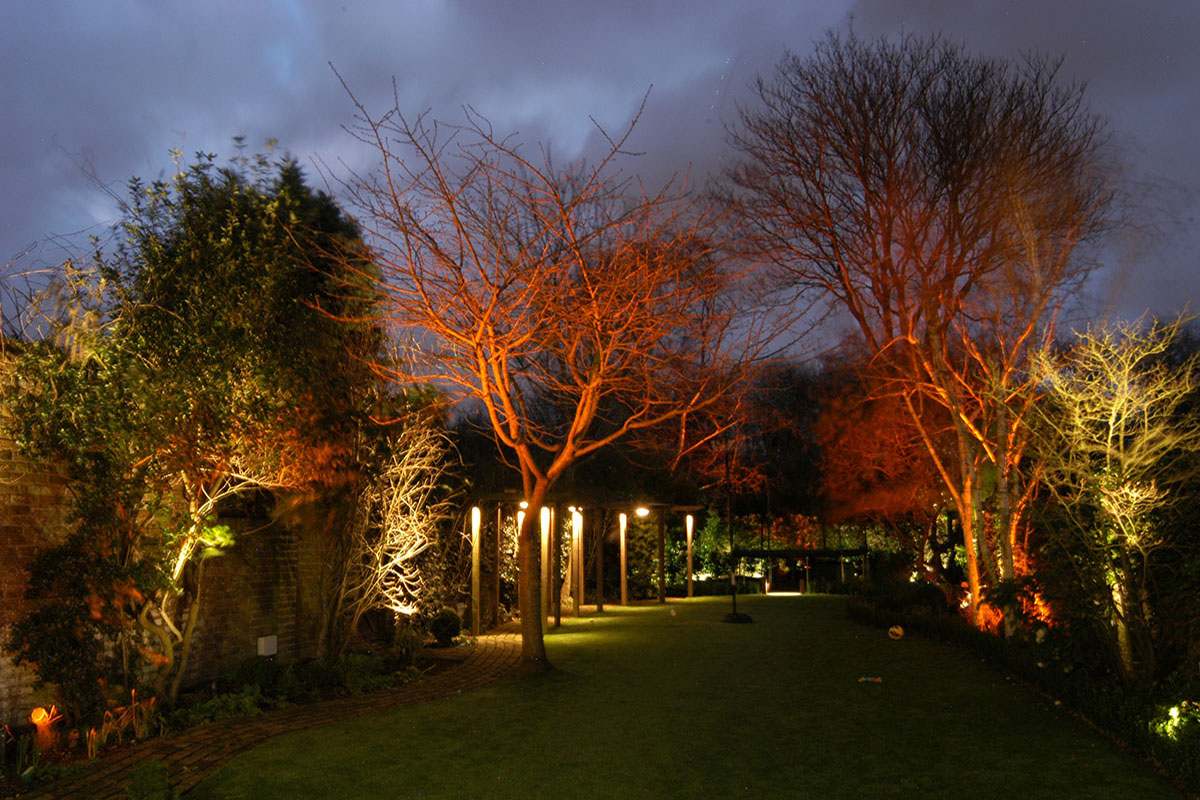RGB Garden Lights in Barnes, Richmond