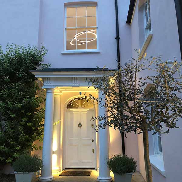 Manor House, Entrance Lighting, Mill Hill