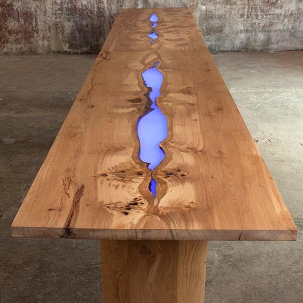 Illuminated Table, London