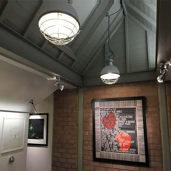 Industrial Light Fittings, Finchley Loft