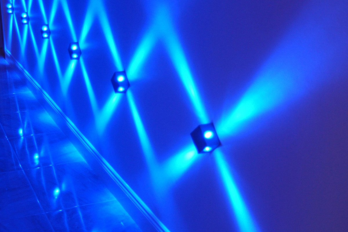 Multibeam LED Wall Light