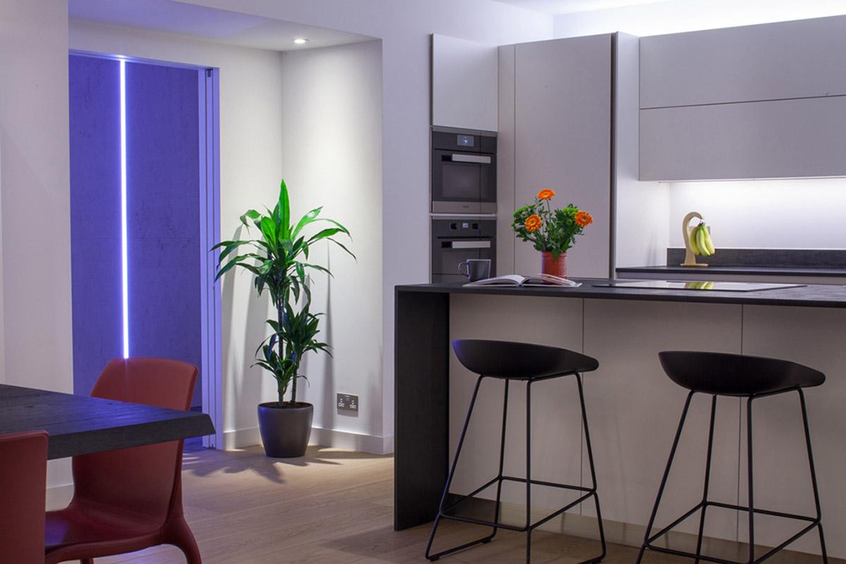 Kitchen & Hallway lighting, Camden, London