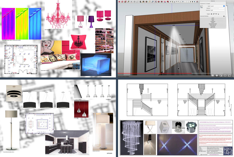 Lighting Design Scheme Online