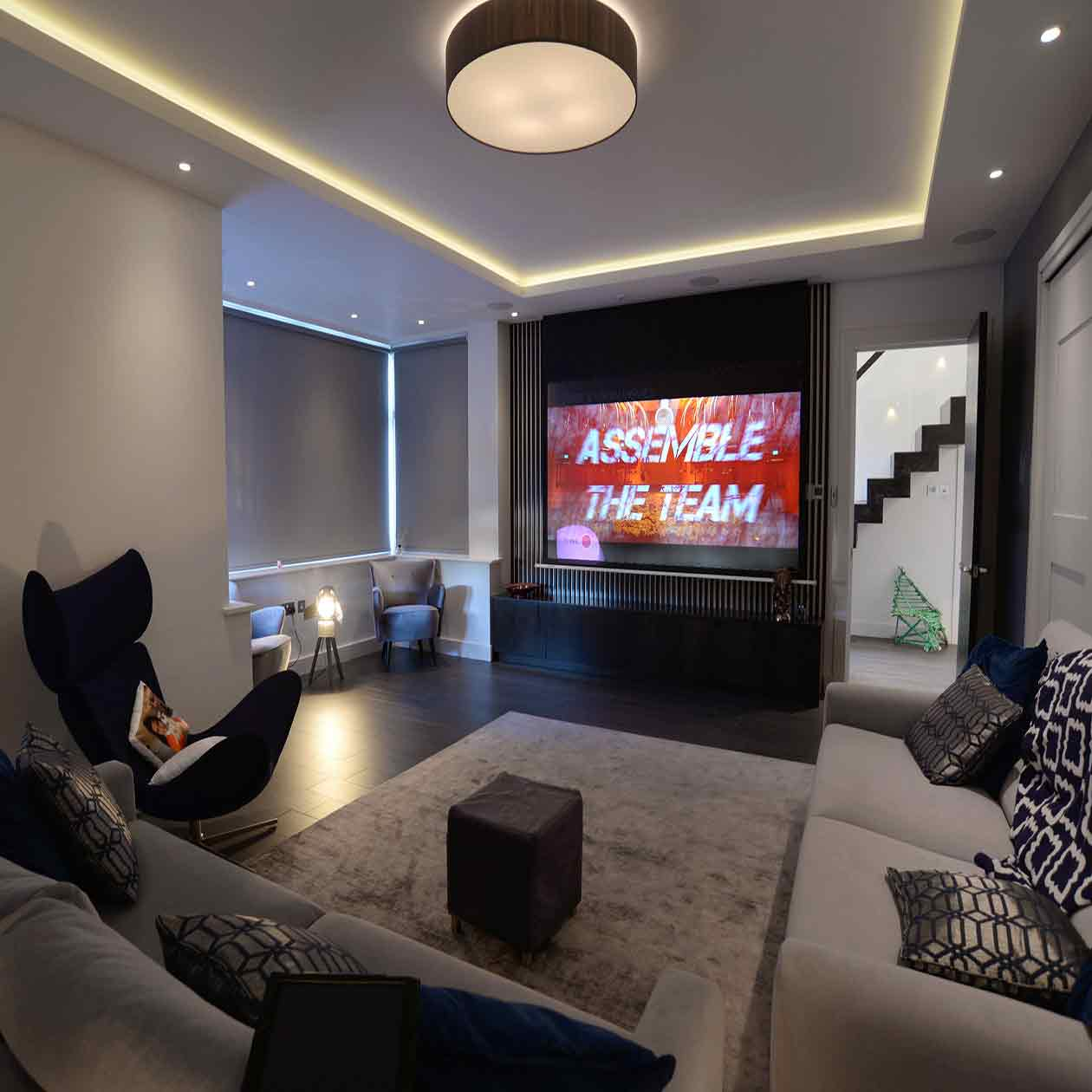 Home Cinema, Winchmore Hill, London