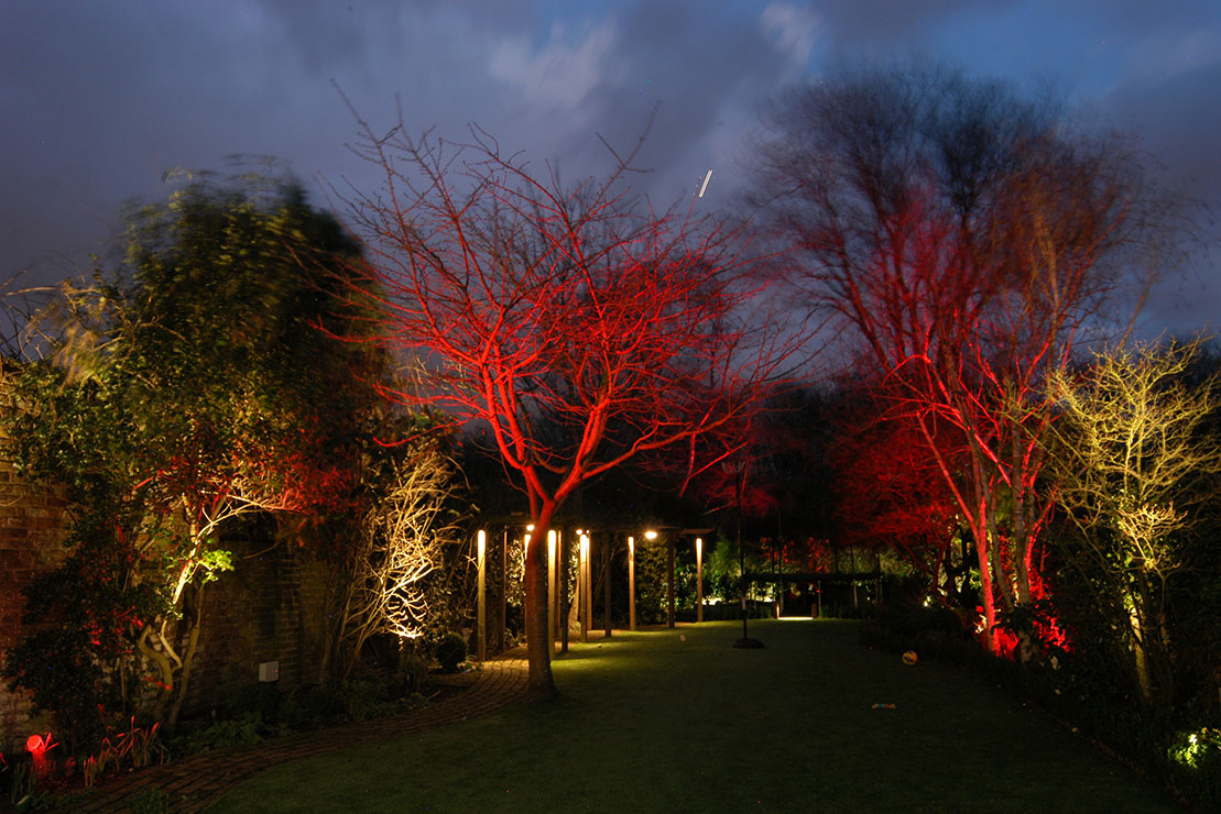 Garden Lighting, Barnes 1