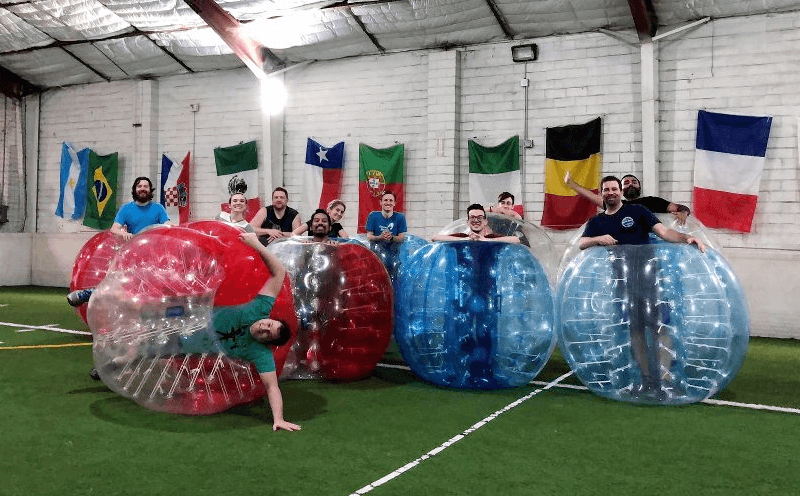 SnapStream Fun Funds - Bubble Soccer