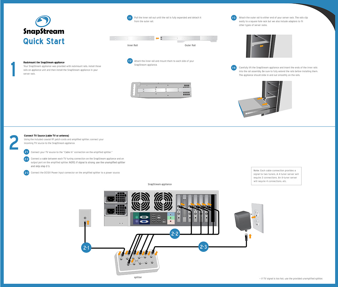 Analog Cable Quick Start Page 1