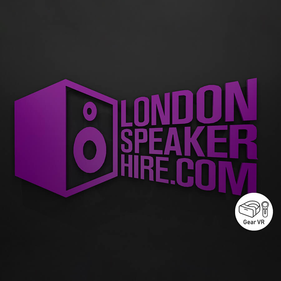 3D rendition of the London Speaker Hire logo