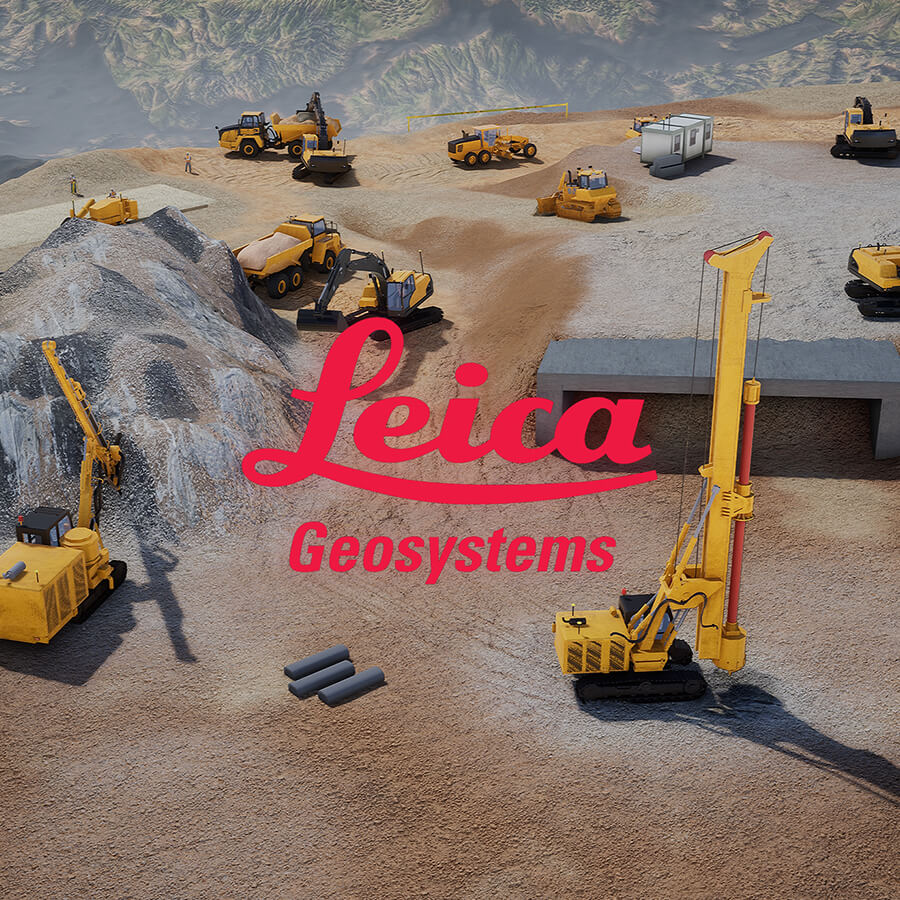 Leica Geosystems 3D construction visualisation
