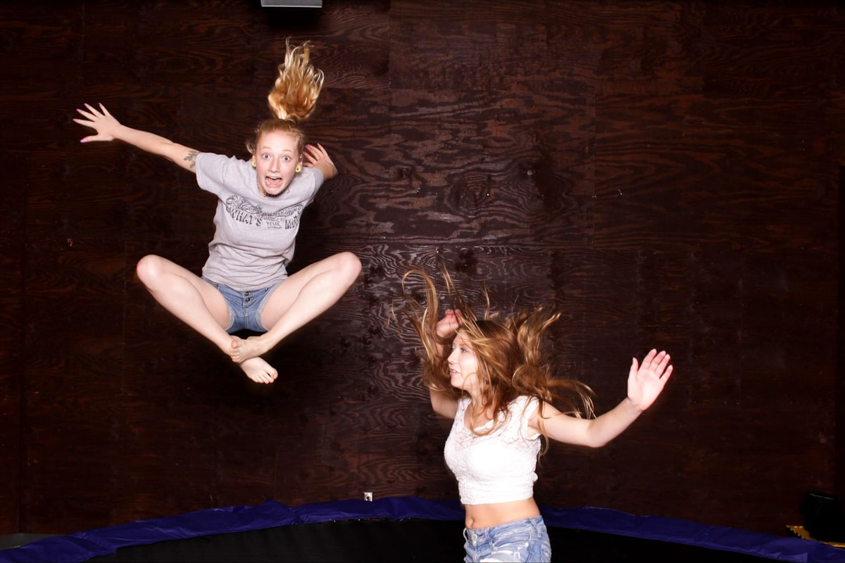 Trampoline Photo Booth