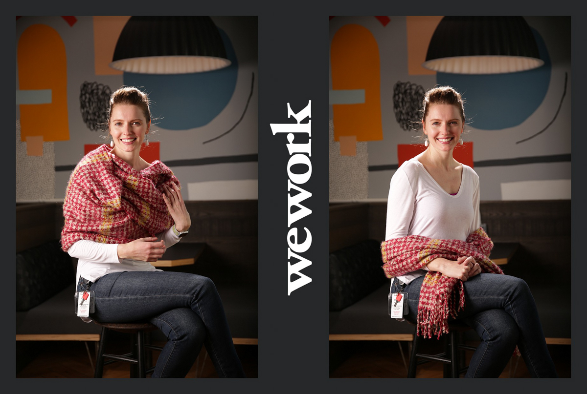 WeWork Community Headshots