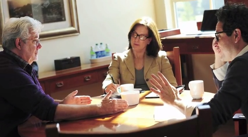 George Lucas, Kathleen Kennedy, and JJ Abrams discuss the future of Star Wars