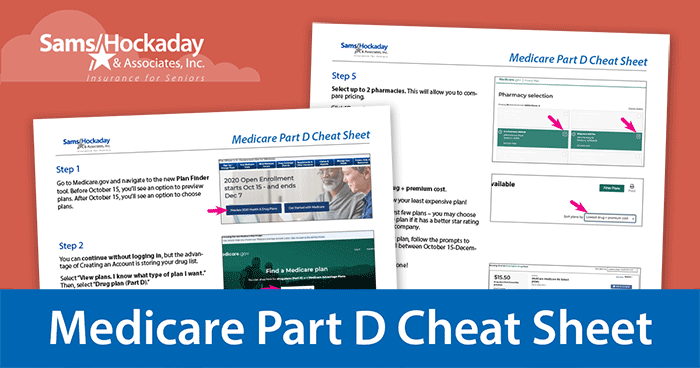 Medicare Part D Cheat Sheet