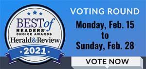 Reader's Choice - Vote Now
