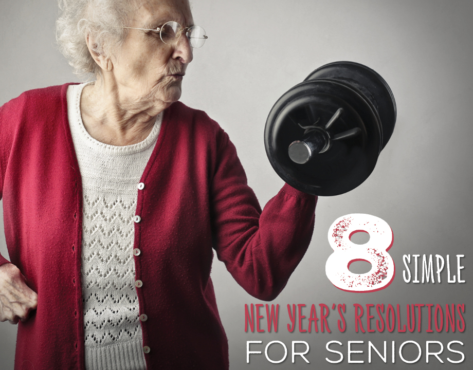 8 Simple New Year's Resolutions for Seniors