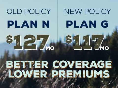 Cancer-free, better Medigap coverage, lower premiums