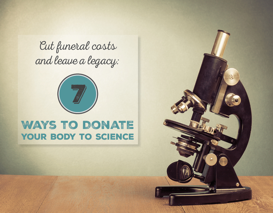 Cut Funeral Costs and Leave a Legacy: 7 Ways to Donate Your Body to Science