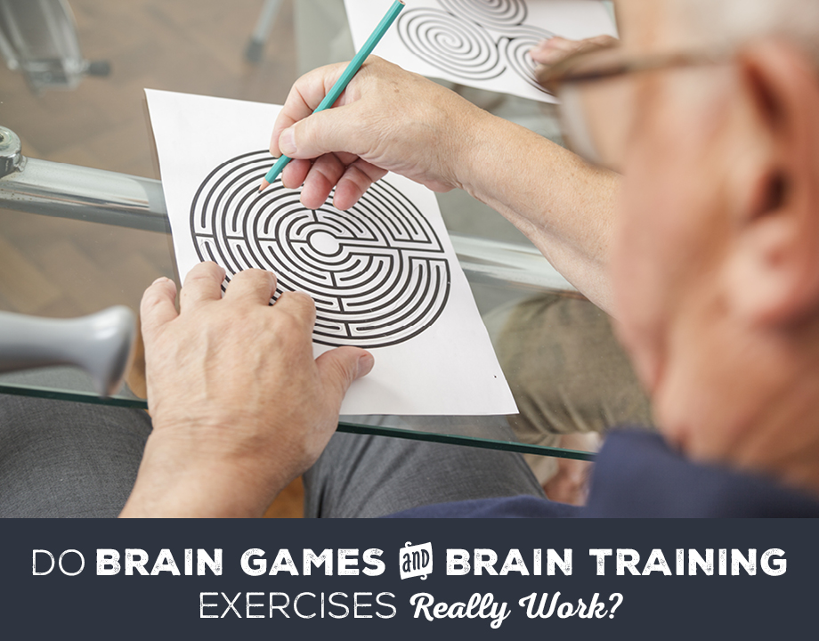 Do Brain Games and Brain Training Exercises Really Work?