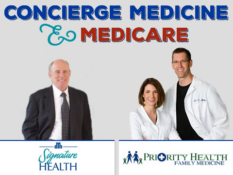 Does Medicare work with concierge medicine services?