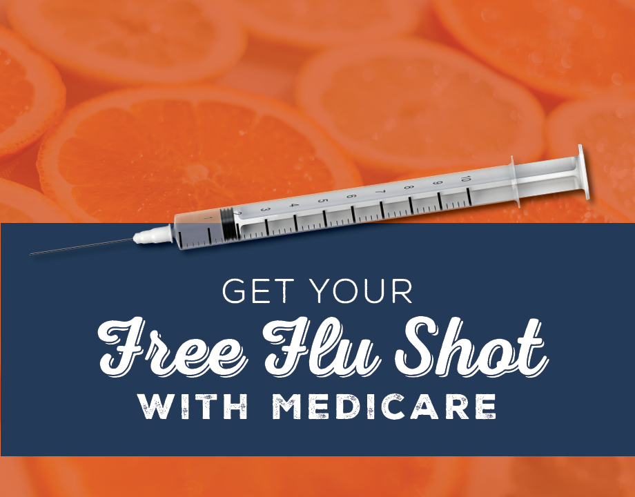 Get Your Free Flu Shot With Medicare