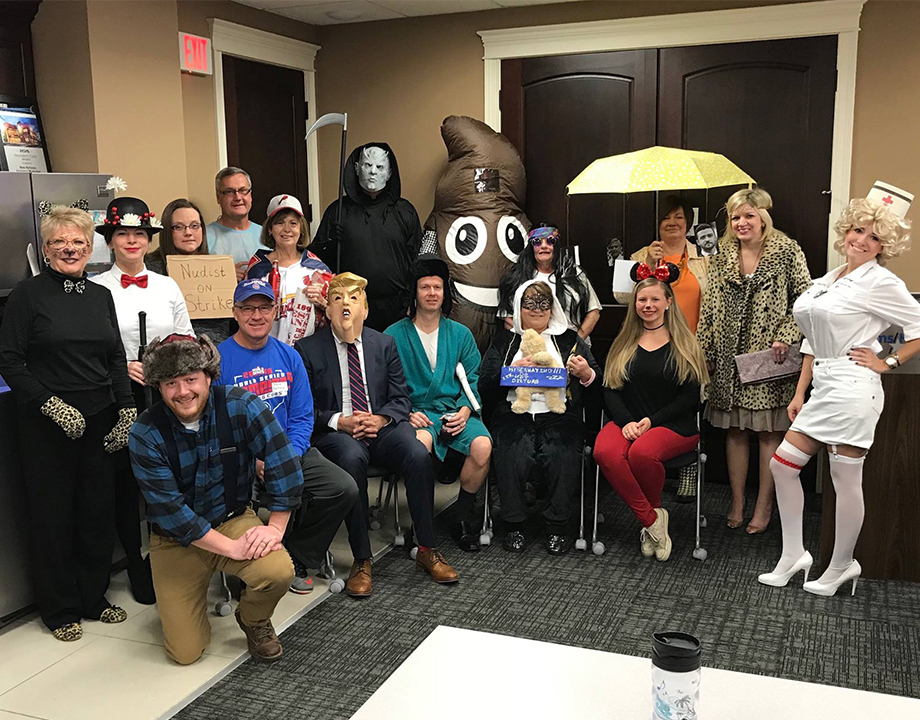Happy Halloween From the Office Staff