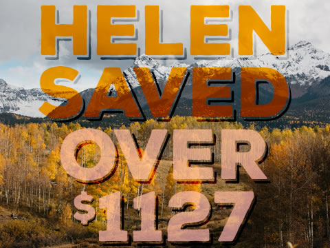 Helen's premiums went up, so she took action