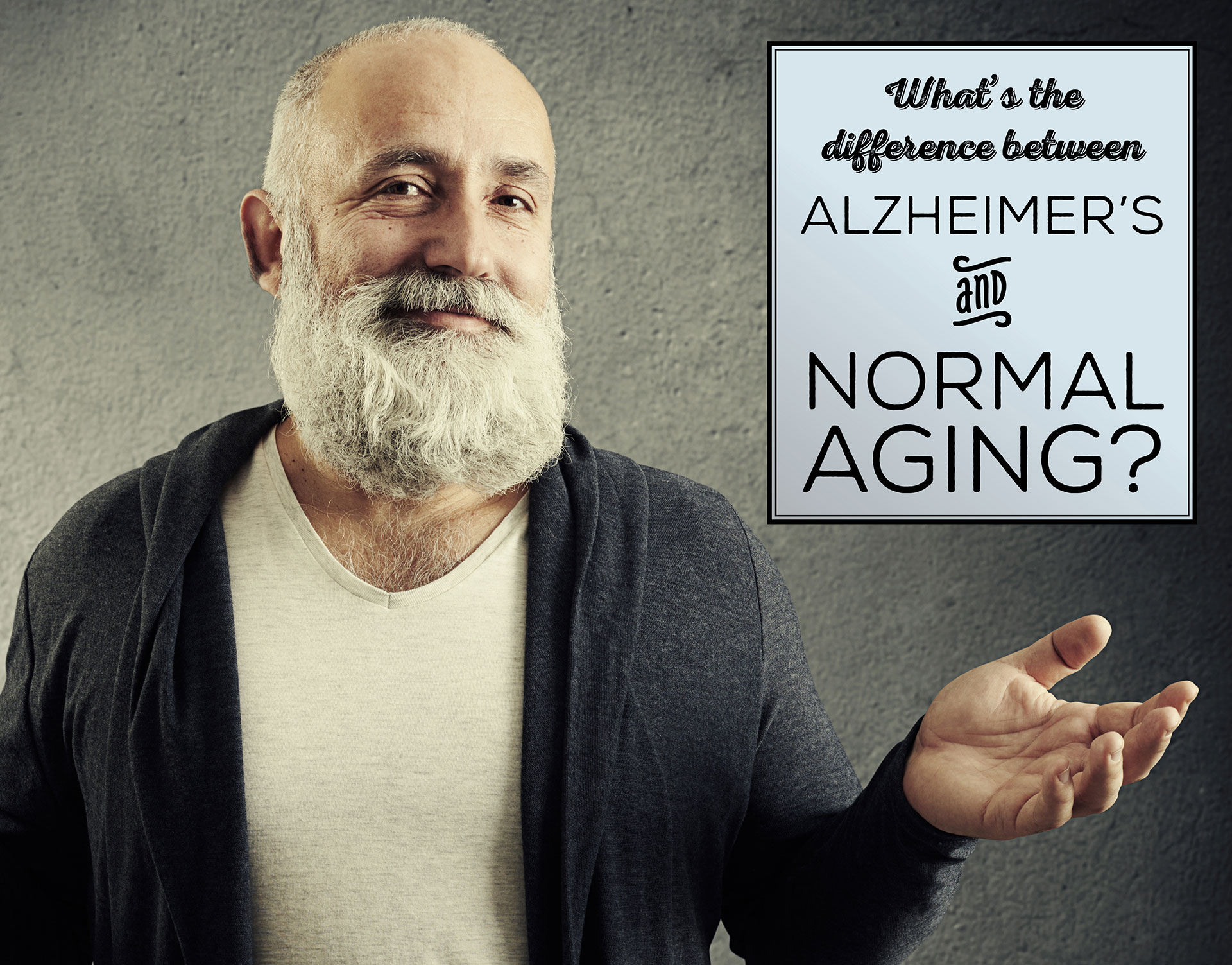 What's the Difference Between Alzheimer's and Normal Aging?