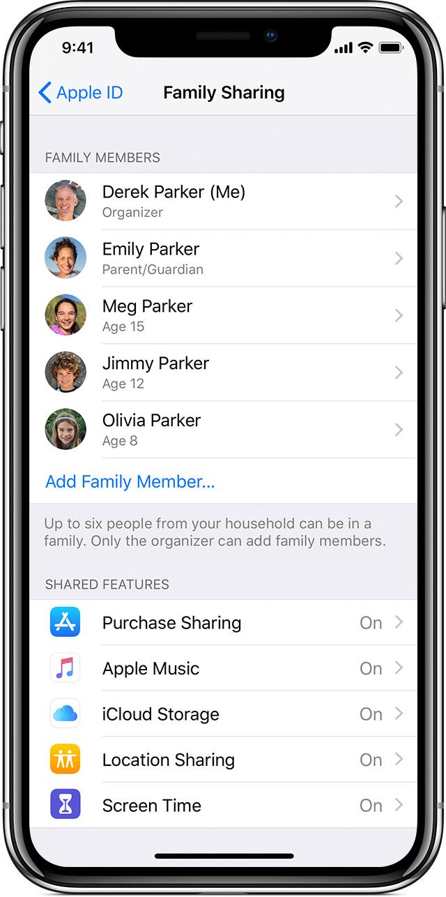 ios12-iphone-x-family-sharing-shared-features