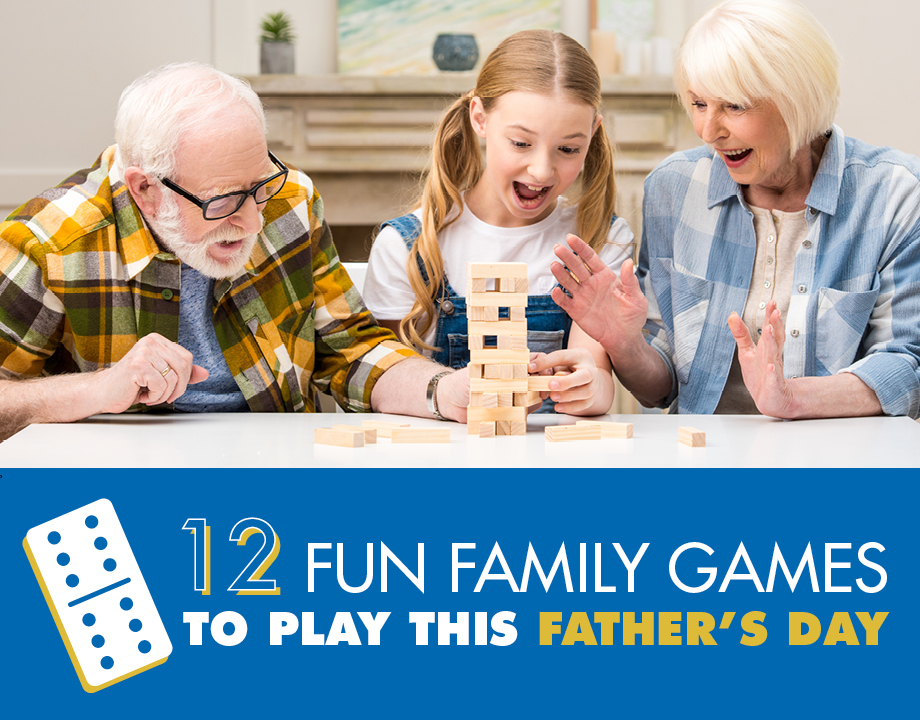 12 Fun Family Games to Play This Father's Day