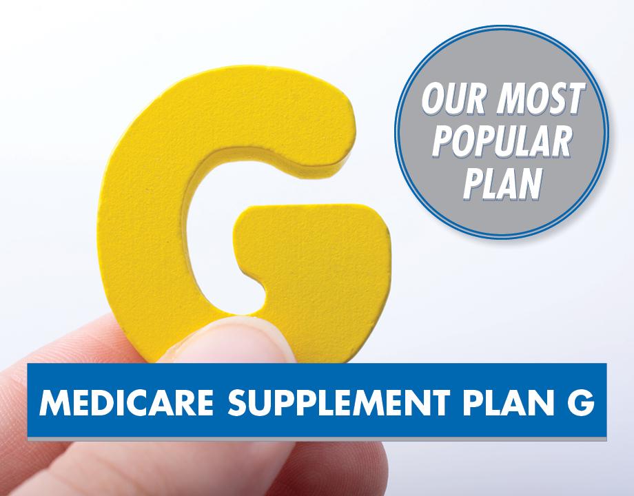 Medicare Supplement Plan G – Our Most Popular Plan