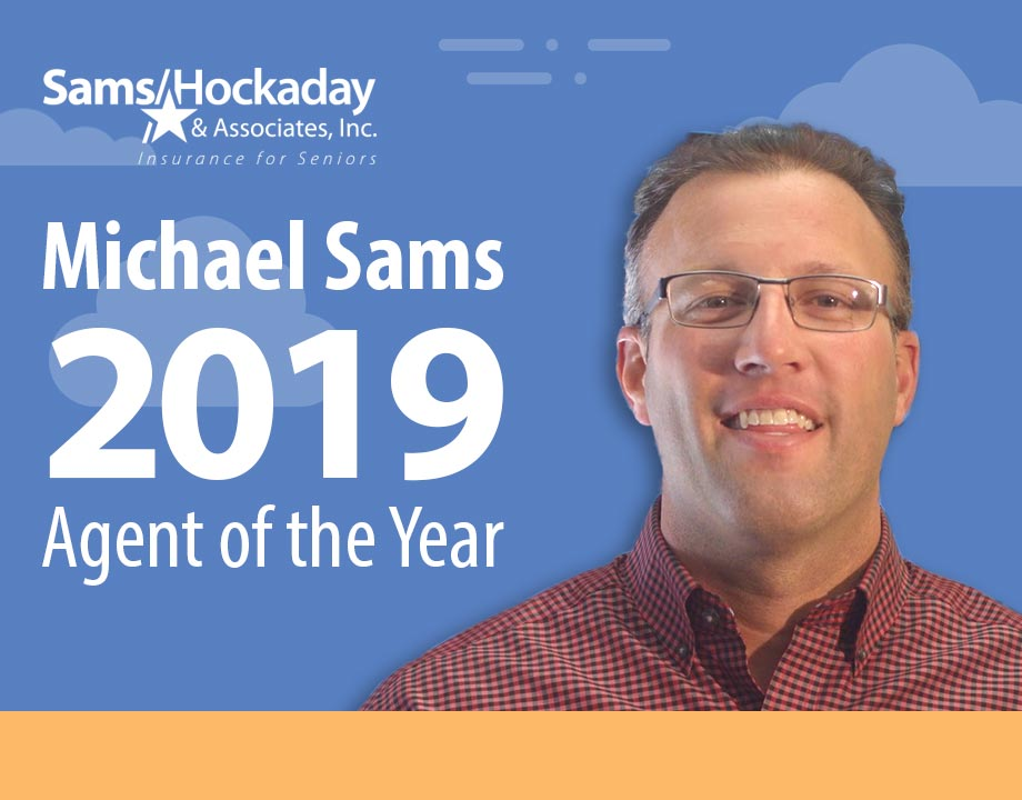 Michael Sams Earns 2019 Agent of the Year Award