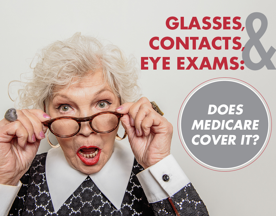 Glasses, Contacts, and Eye Exams: Does Medicare Cover It?