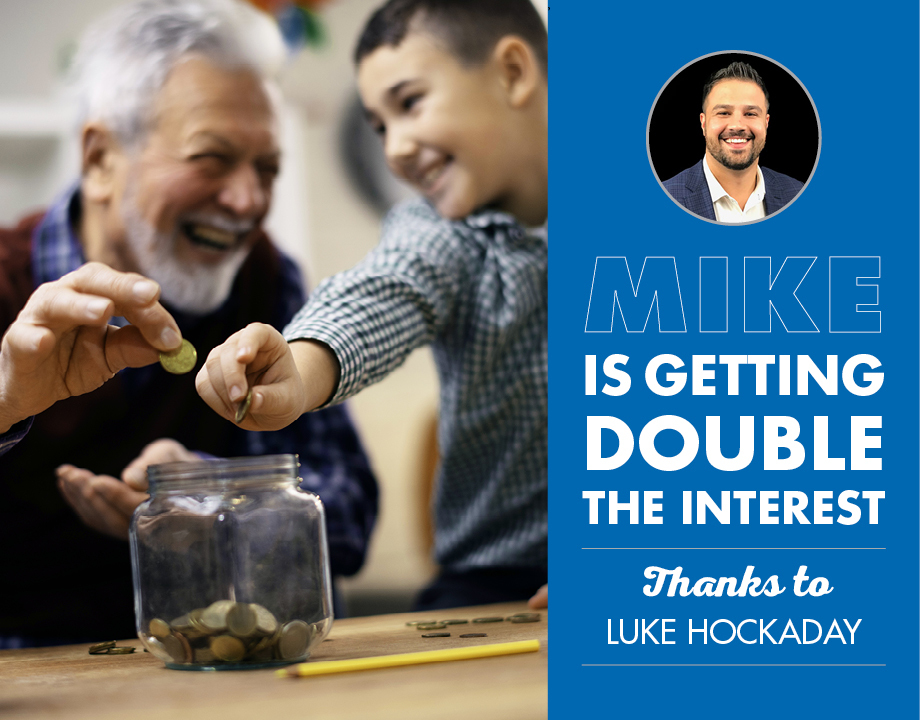 Mike Is Getting Double the Interest Thanks to Luke Hockaday
