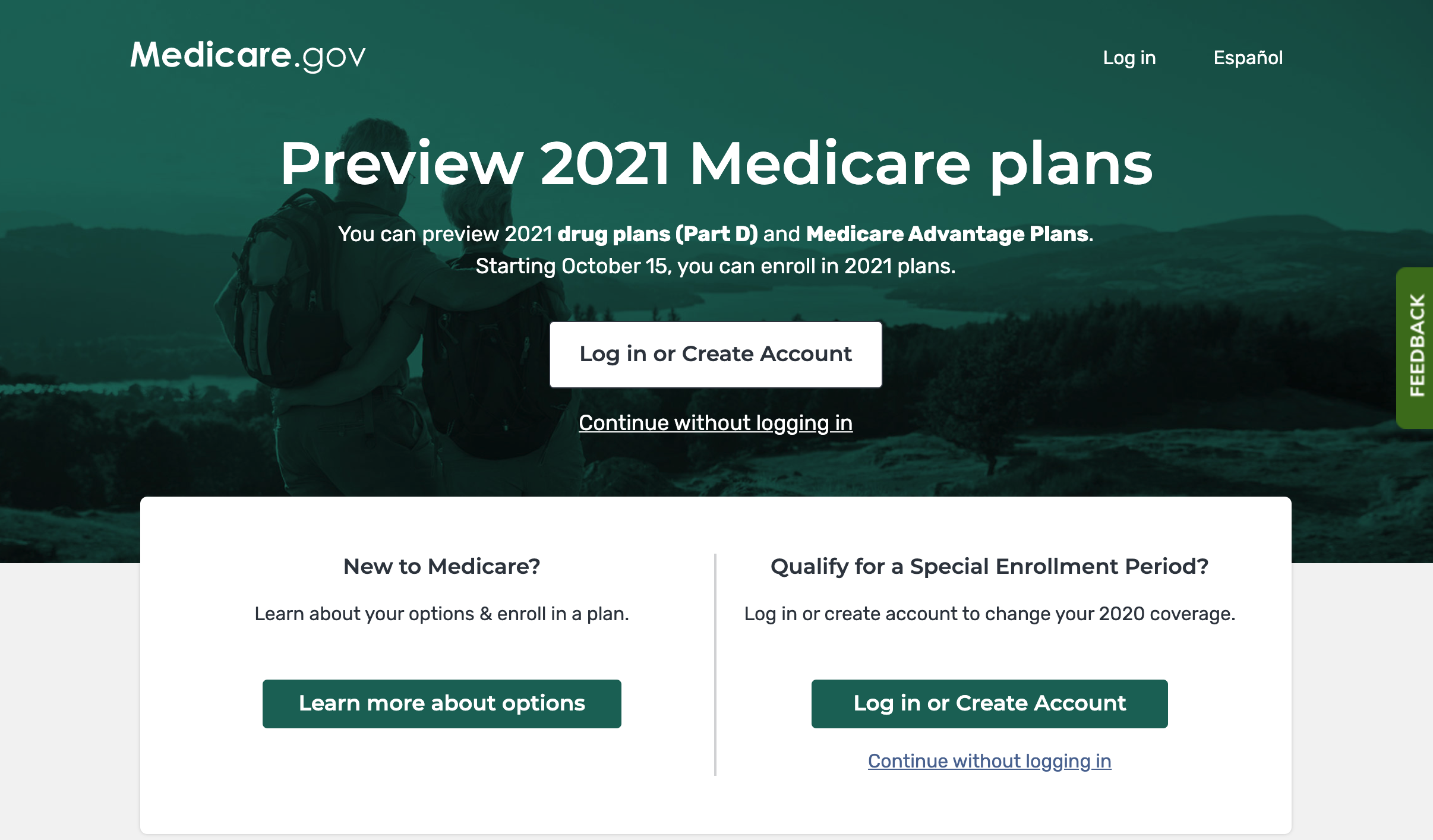 You Can Now Preview 2021 Medicare Plans on Medicare.gov