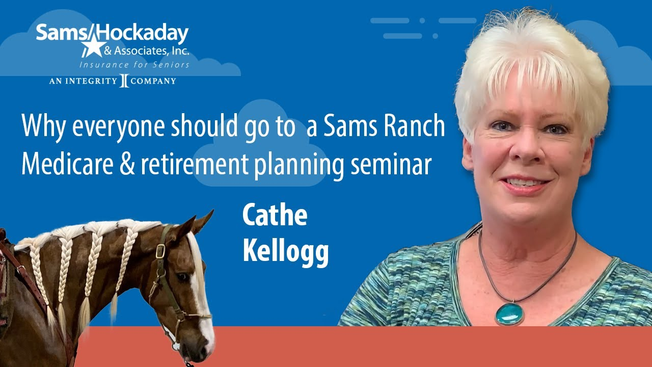 Cathe Kellogg Shares Her Experience at a Sams Ranch Medicare Seminar